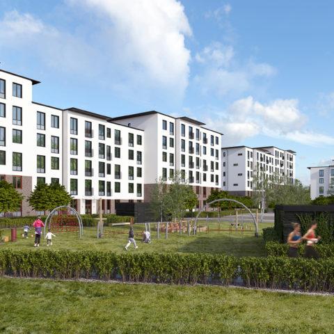 Heimstaden nyproduktion Burlöv Arlöv hyresrätter projekt