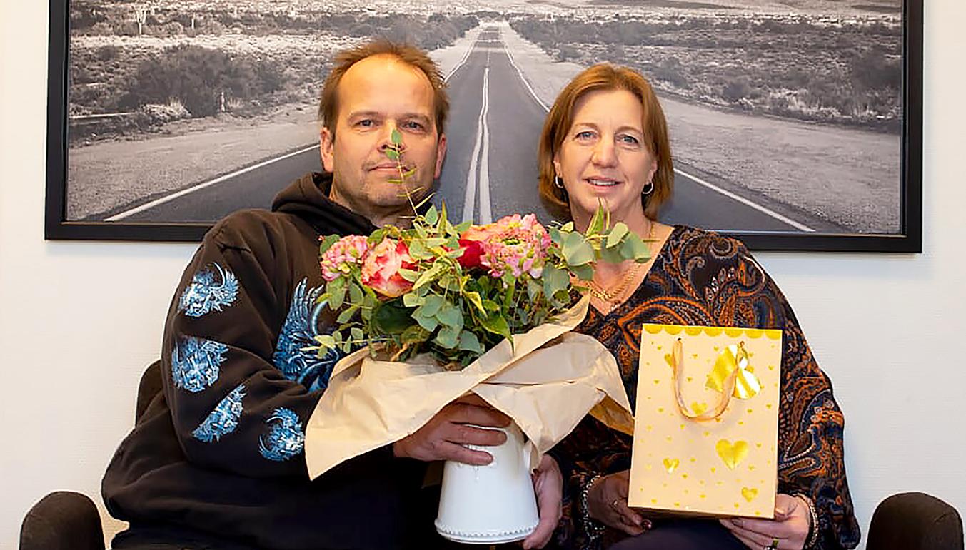 Tomas och Anette.