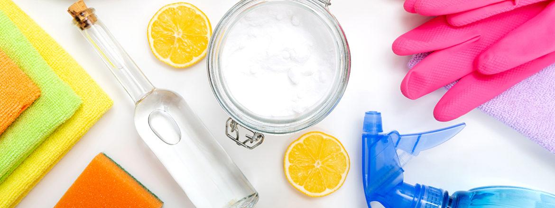 städa utan kemikalier