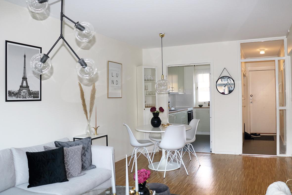 Lägenheten är en av Heimstadens nyrenoverade på Vildanden.