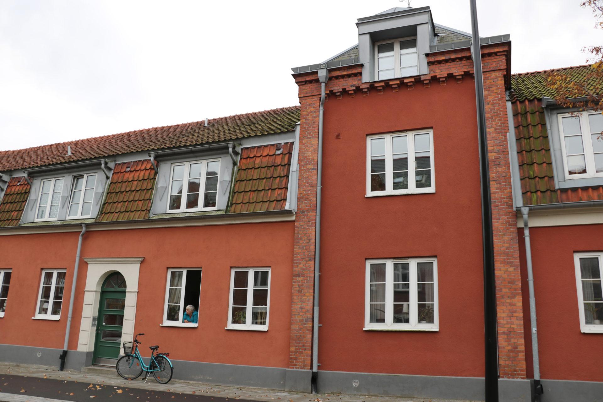 Det vackra huset ligger inne i mysiga Ystad.