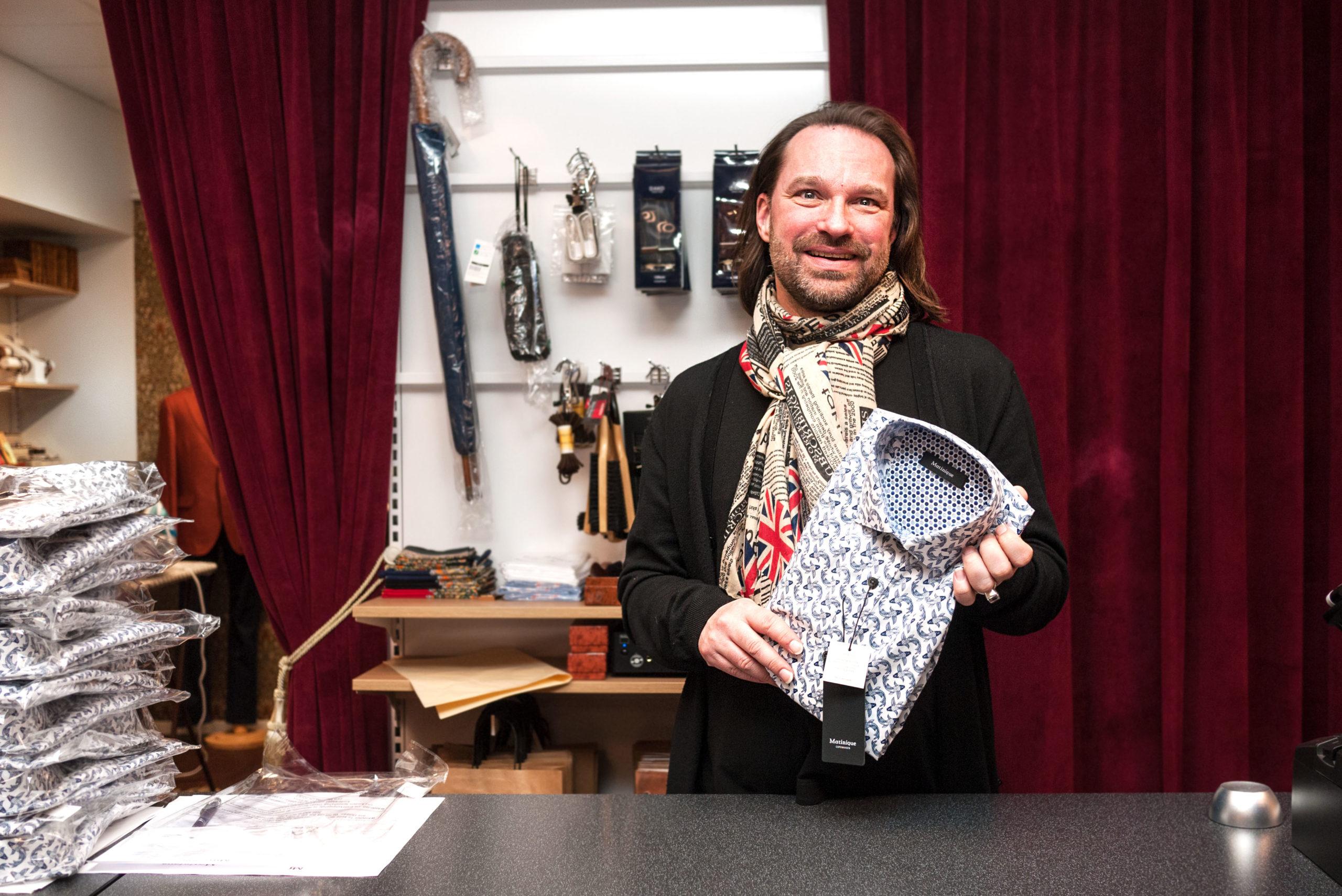 Bernhard och Hans ser positivt på framtiden för den fysiska handeln, särskilt i en mindre stad som Falköping.