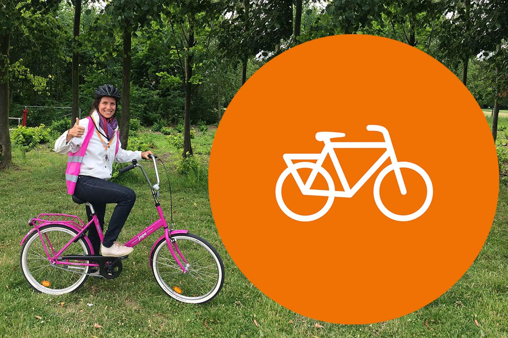 Isabella Thöger, tillförordnad verksamhetschef på Cykelfrämjandet.