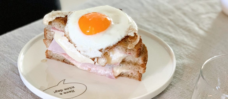 Verdens beste ostesmørbrød: Croque madame