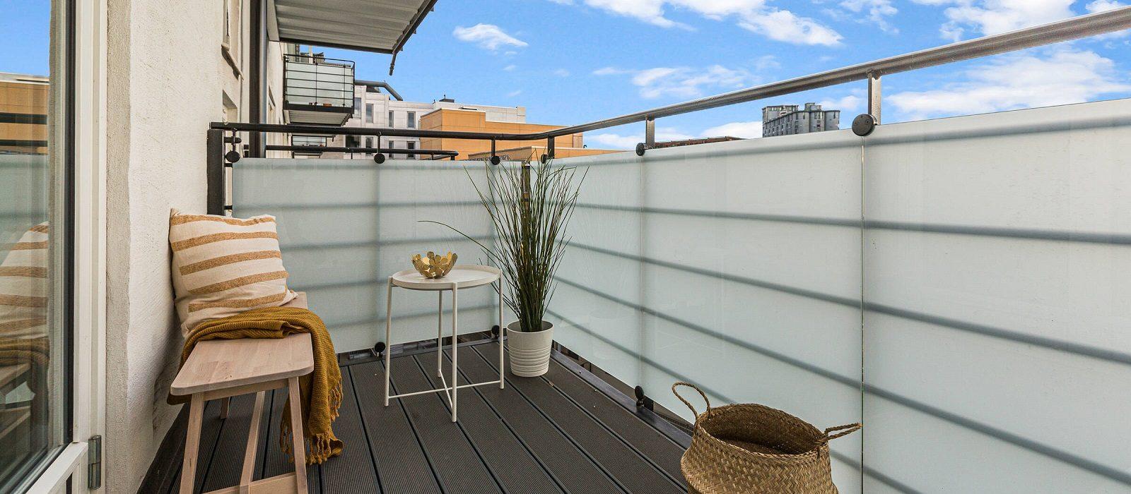 Gjør balkongen til din favorittplass