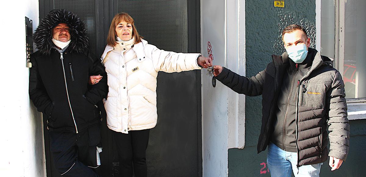 <b>FRIENDLY HOMES</b><br>Familie Fuchs findet nach Eigenbedarfskündigung ein neues Zuhause bei Heimstaden</br>